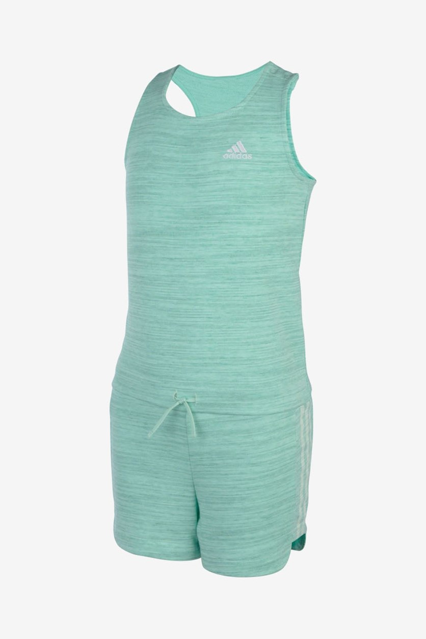 Girl's Transition Romper, Mint