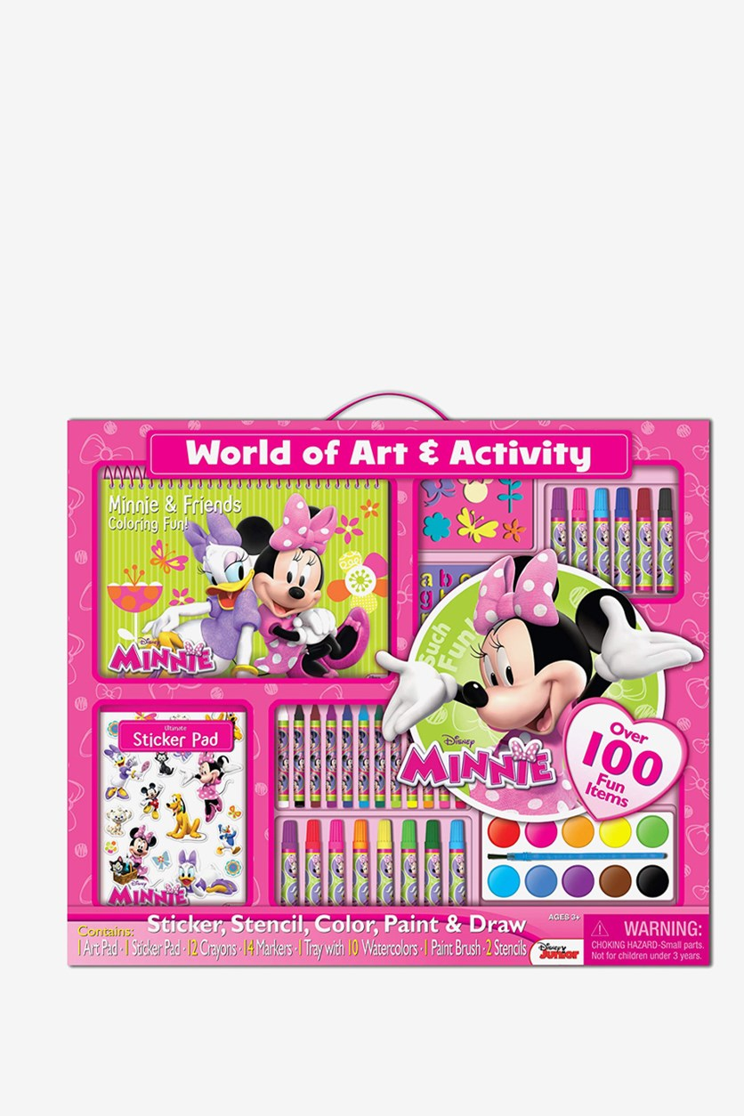 Disney Minnie Mouse Giant Art Set, Pink Combo