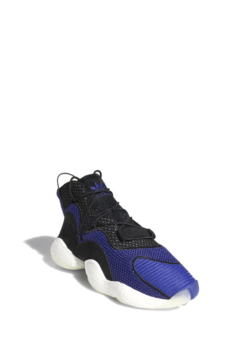 Men's Lace-up Crazy Byw Shoes, Black/Purple