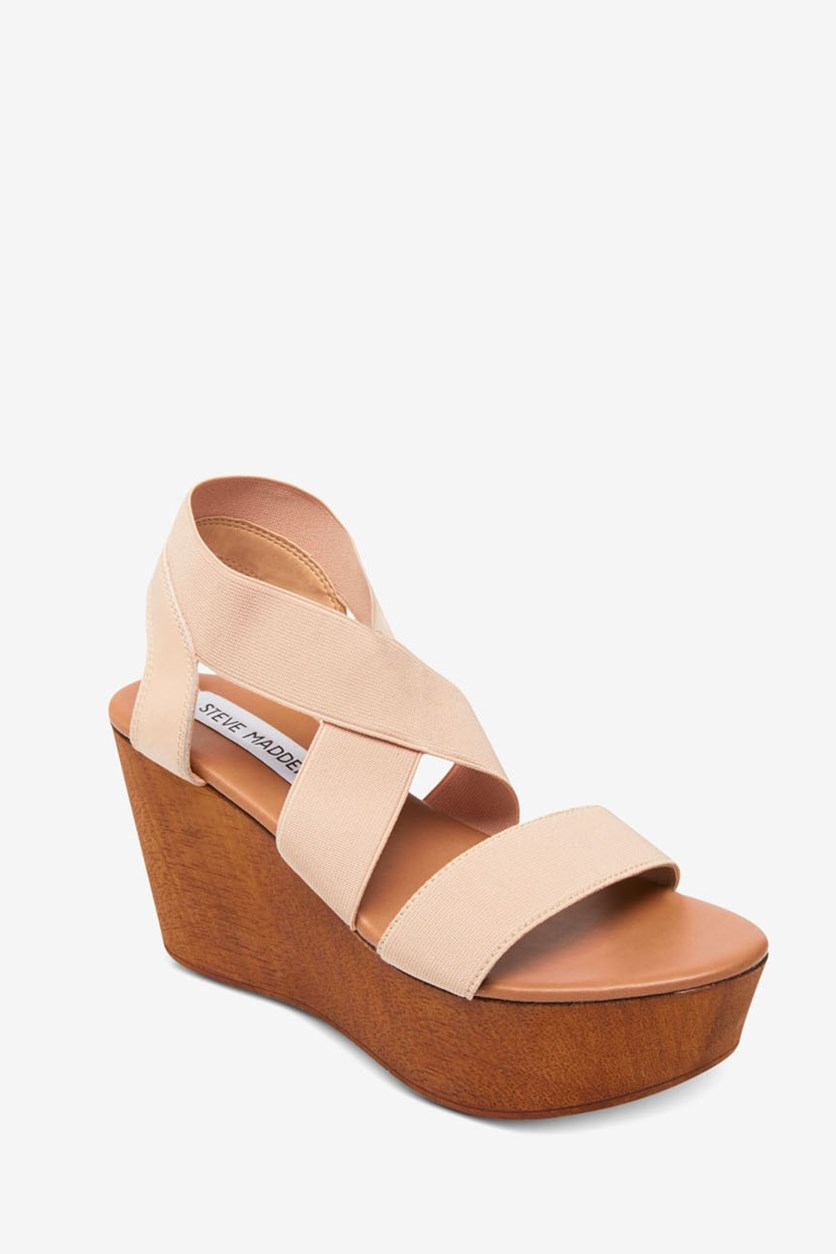 Women's Platform Wedge Sandal, Barbara Blush