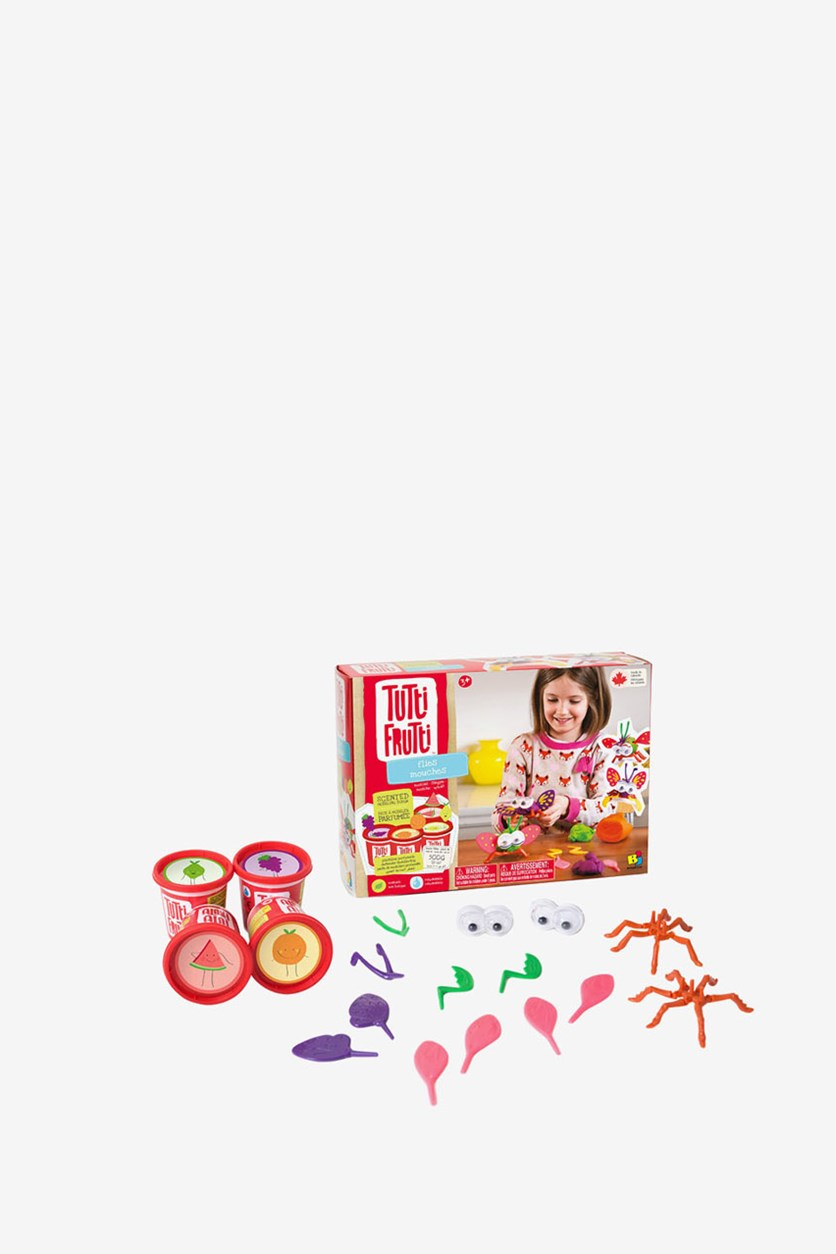 Tutti Frutti Scented Modeling Dough Bizzy Bugs Kit, Red Combo