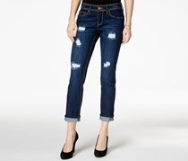 Junior's Ripped Skinny Jeans, Blue Wash