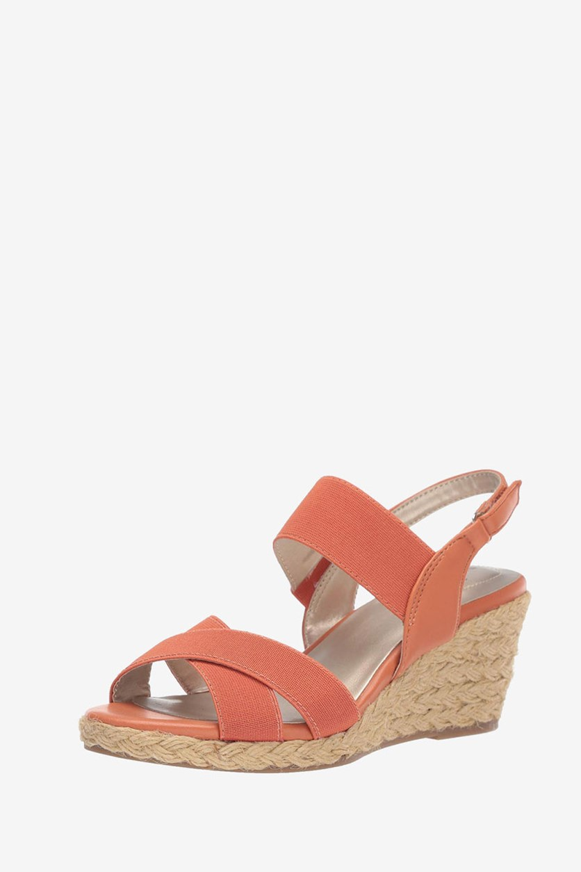 Women's Hearsay2 Wedge Sandal, Orange