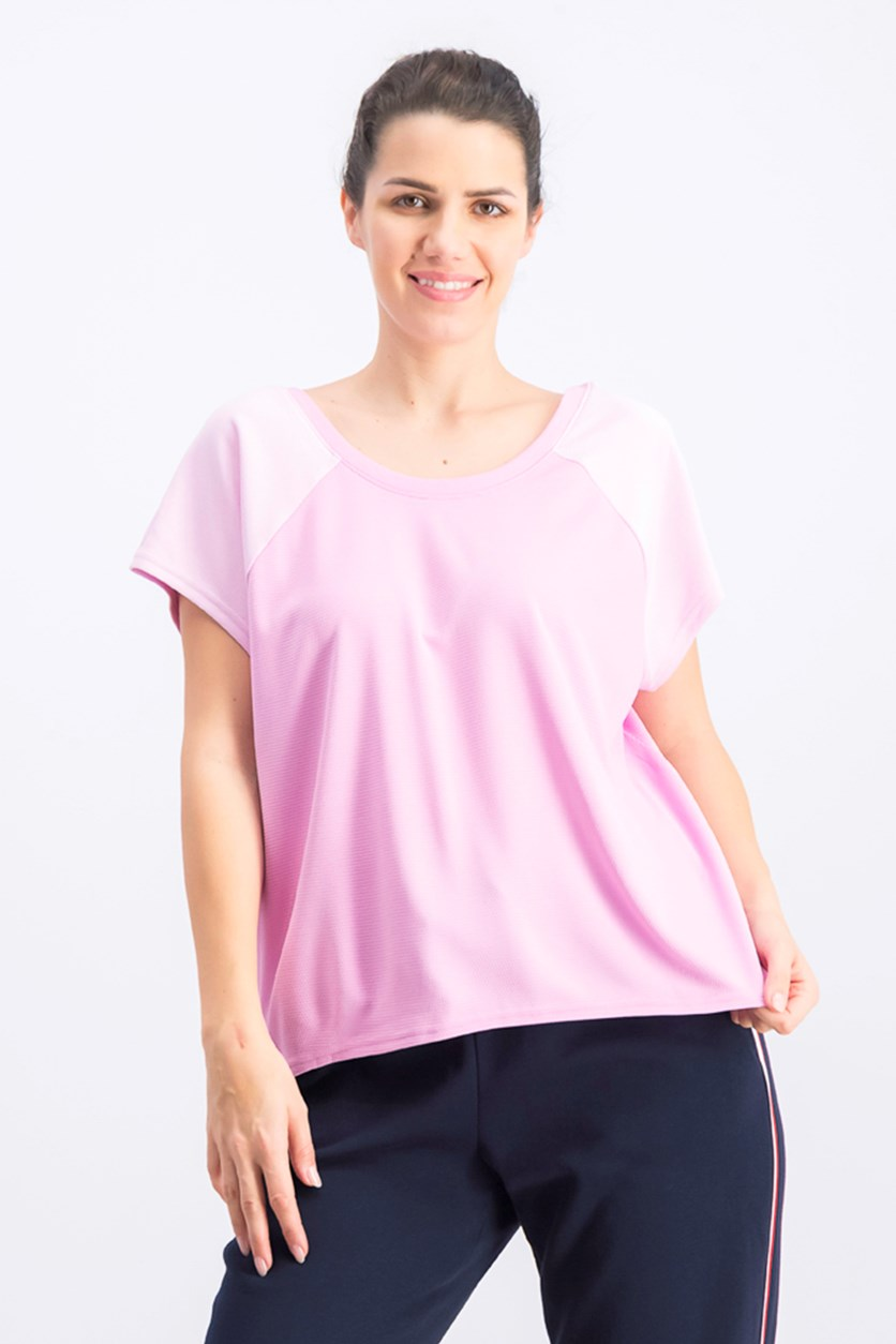 Women's Crisscross Back Top, Pink