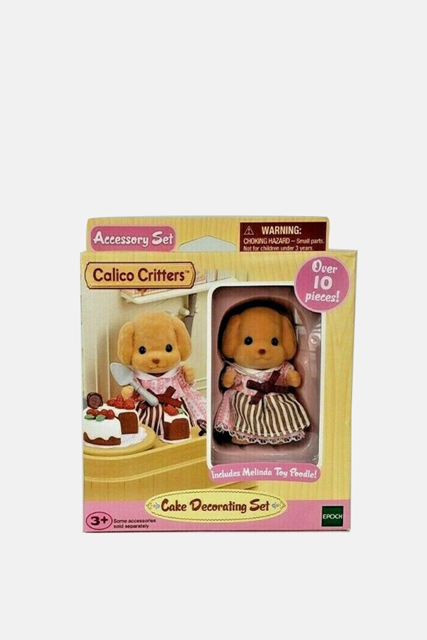 Cake Decorating Kit, Tan Combo