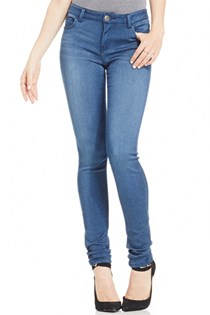 Juniors Soft Skinny Jeans, Blue