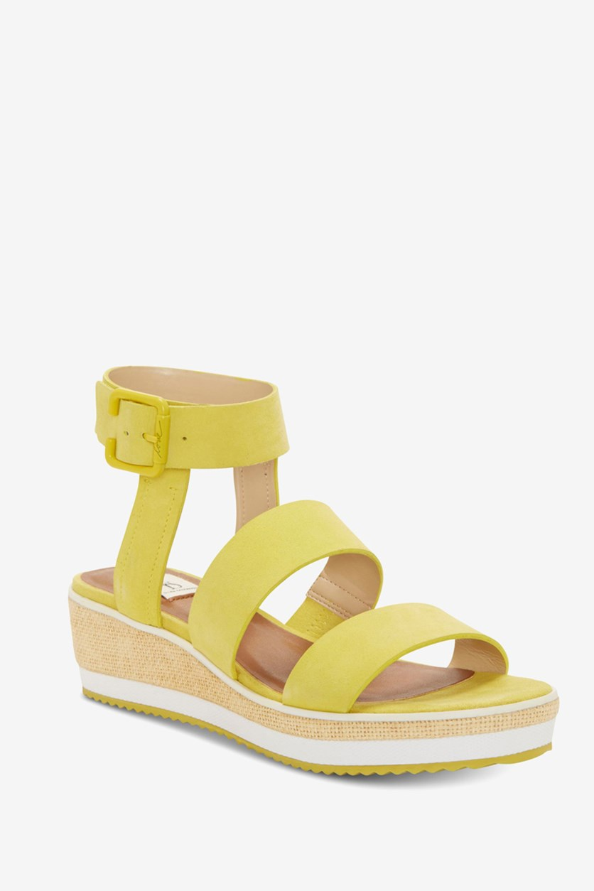 Women's Stassi Wedge Sandals, Citrus