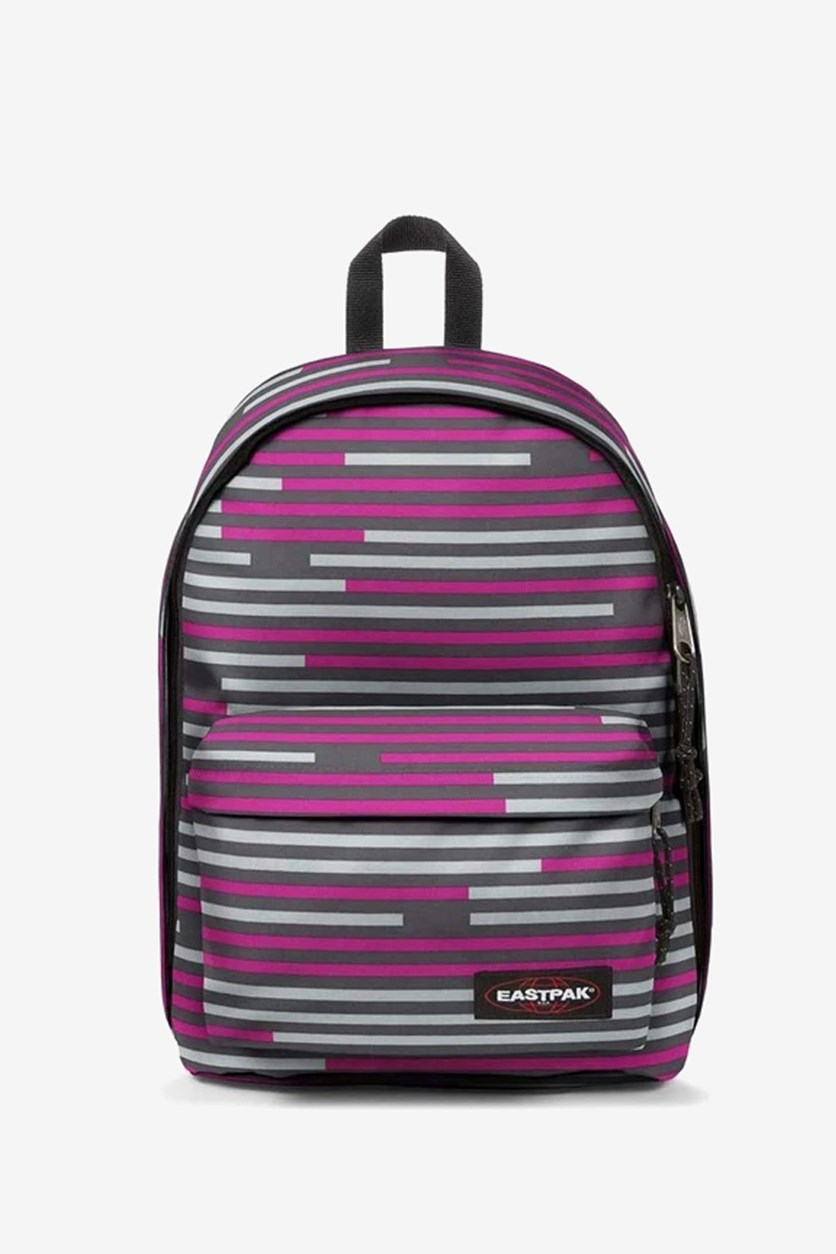 Men's Out Of Office Backpack, Pink/Grey Combo