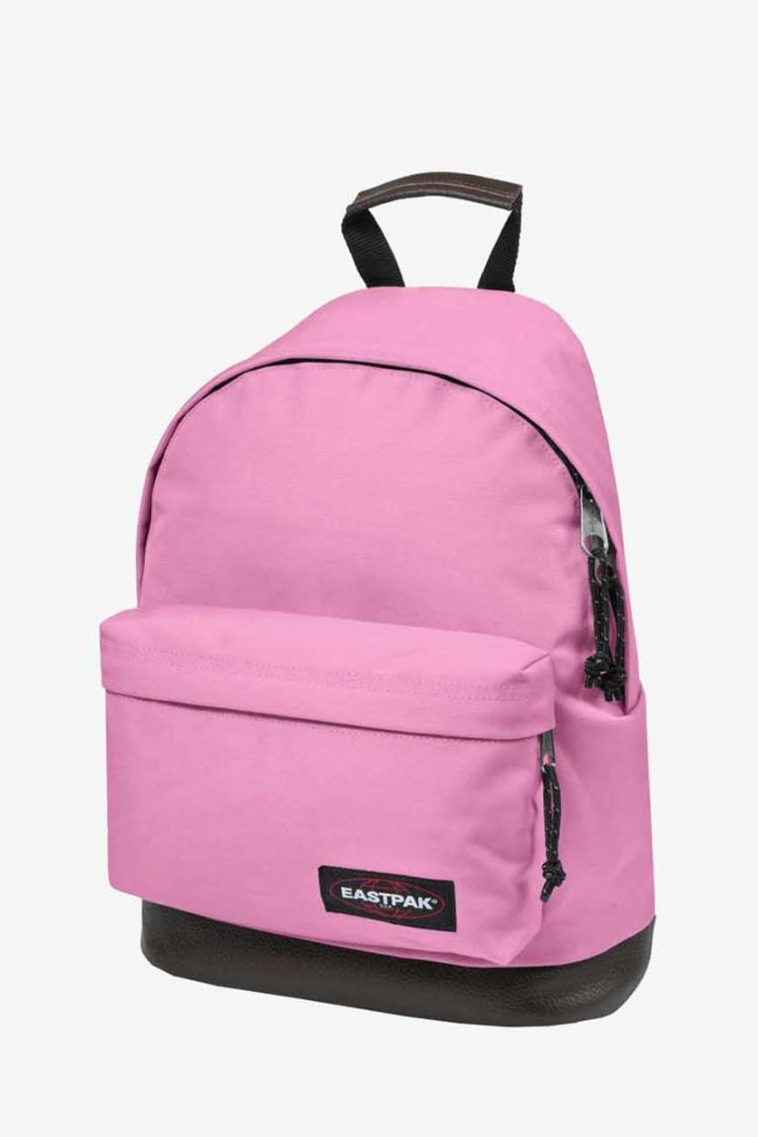 Women's Zippered Back Pack, Coupled Pink