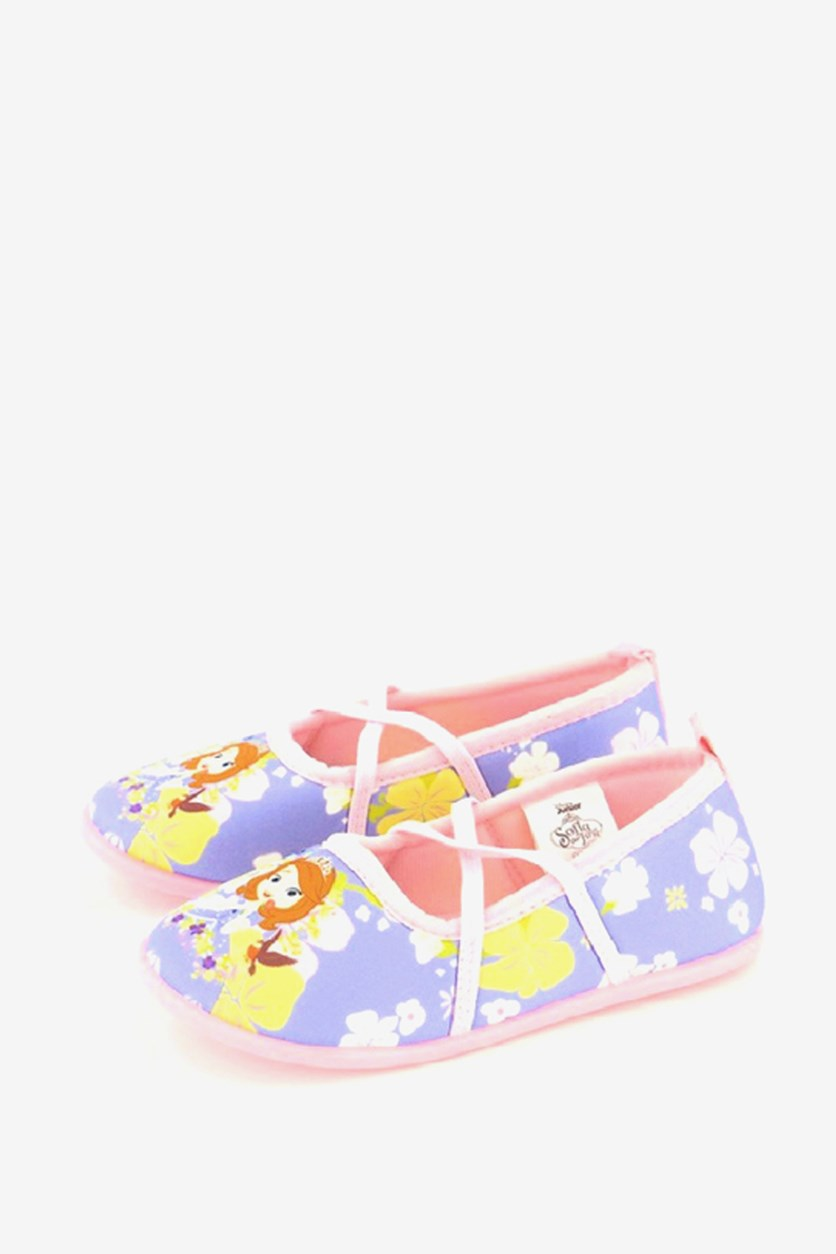 Little Girl's Sofia The First Shoes, Purple/Pink