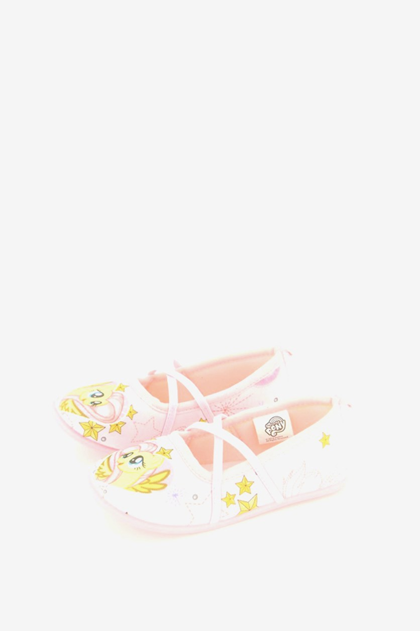 Little Girls  Pony Shoes, Pink