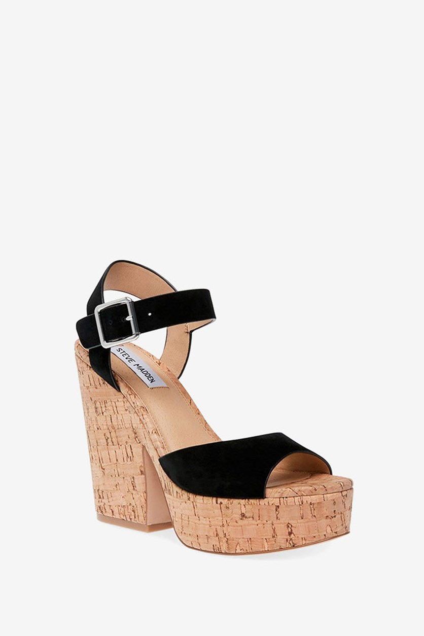 Women's Jess Dress Open Sandal, Black