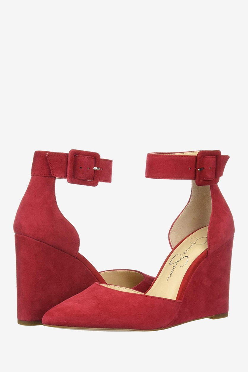 Women's Moyra Wedges, Red