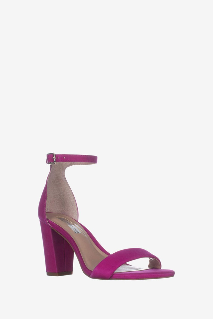Women's Ankle Strap Sandals, Fucshia