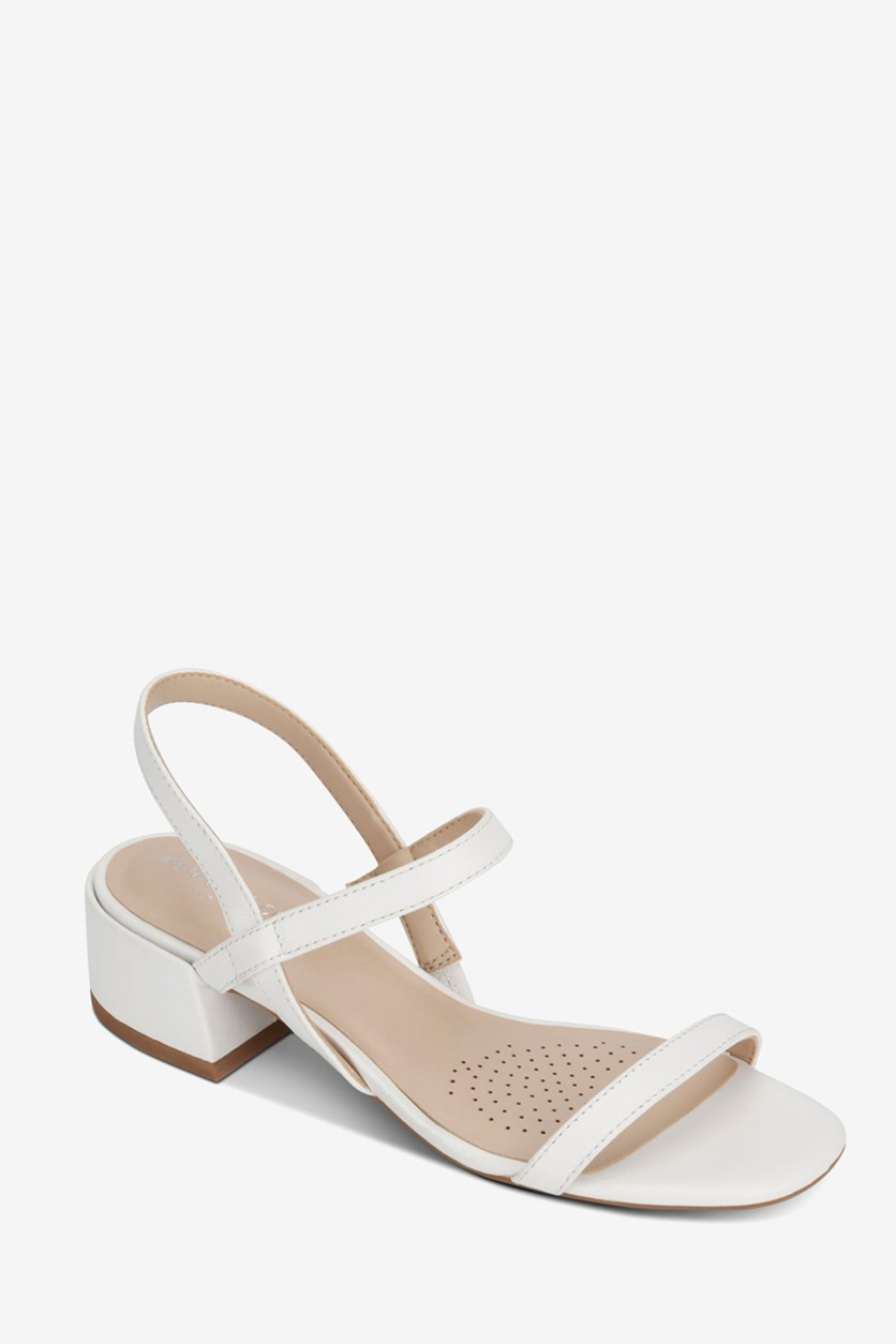 Women's Maisie Low Sandals, White