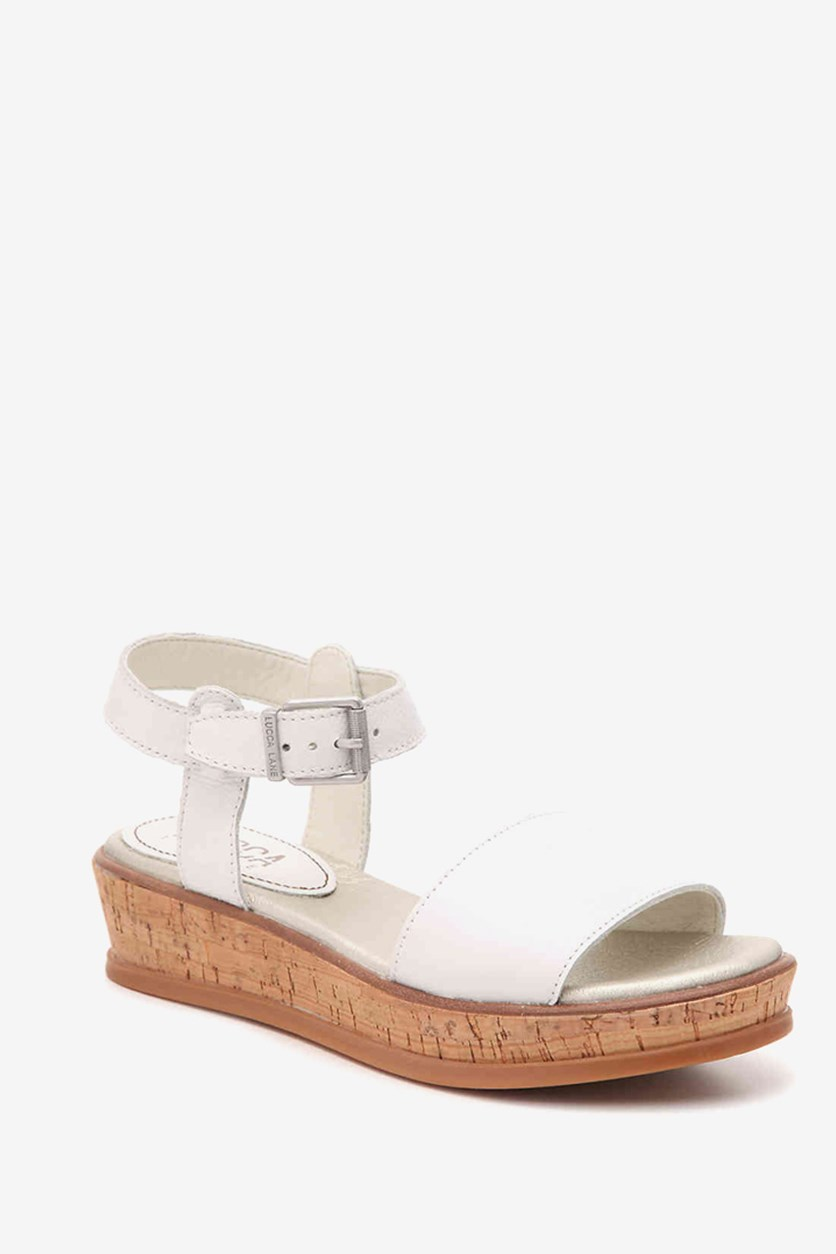 Women's Kameron Platform Wedge Sandals, White