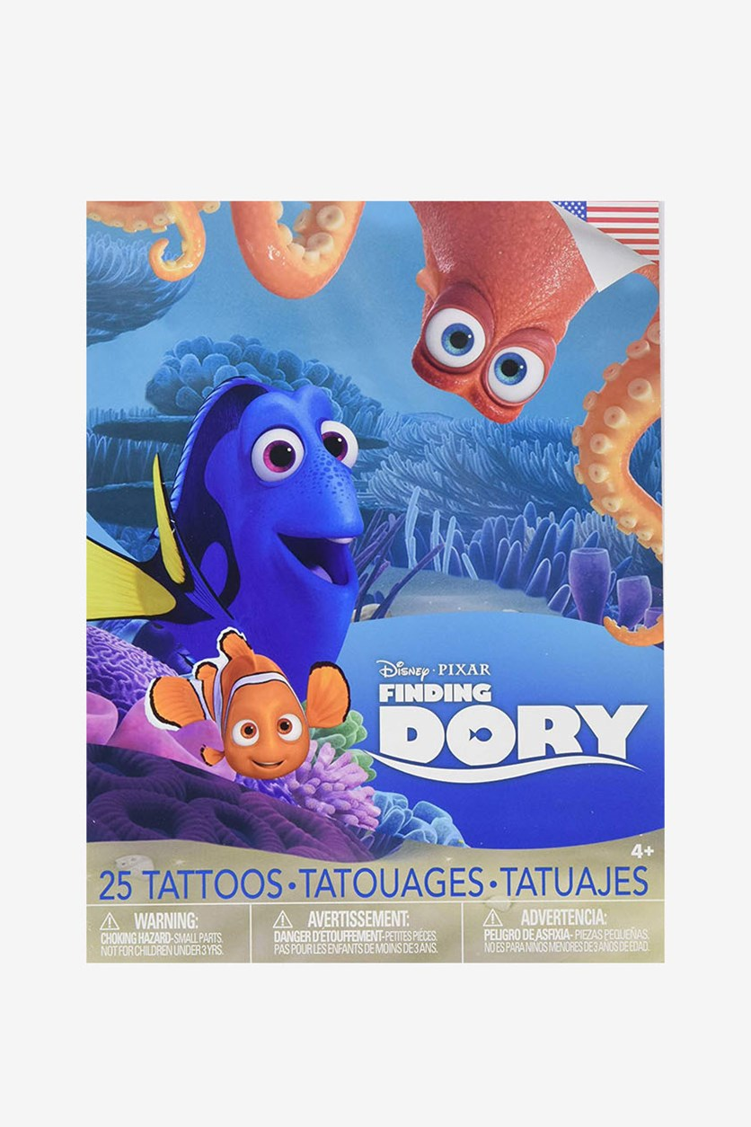 Finding Dory Bag of Tattoos, Blue Combo