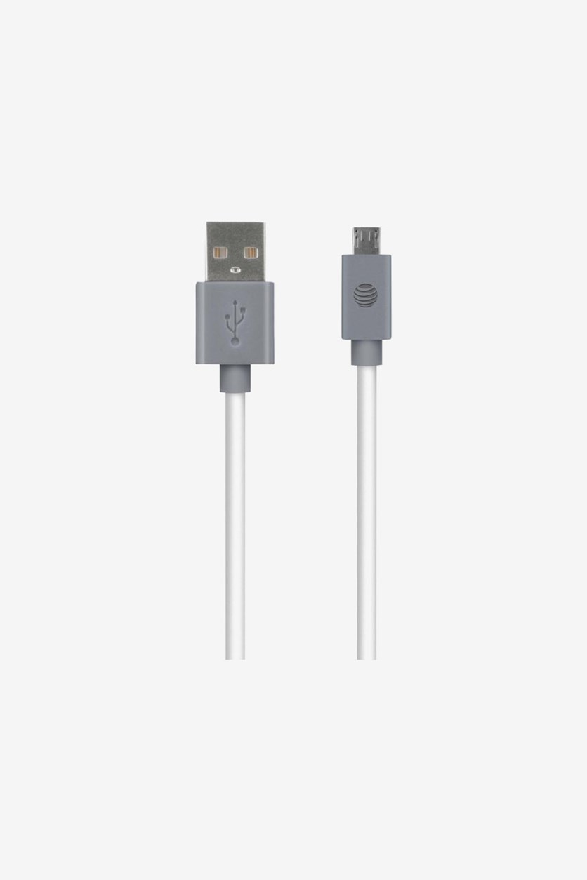 Charge & Sync Usb To Micro Usb Cable, White