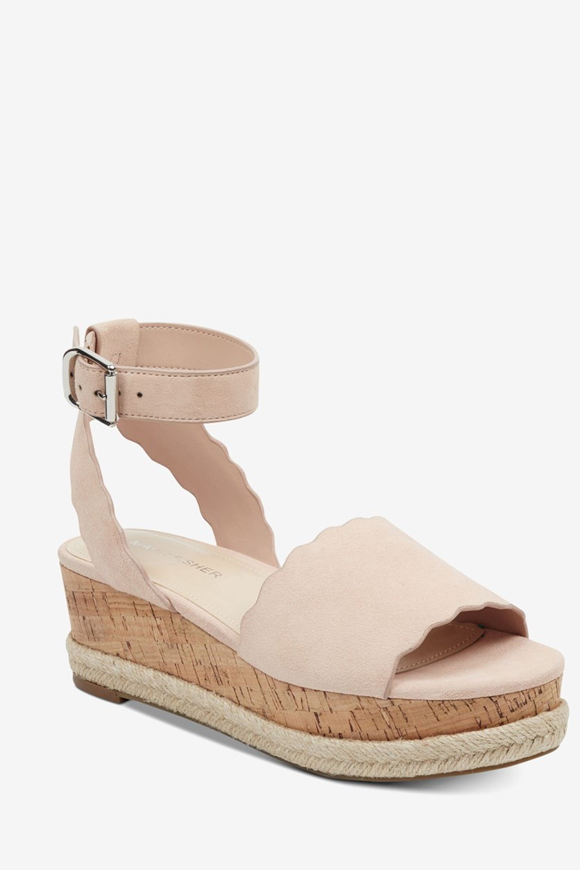 Women's Faitful Platform Wedge Sandal, Light Pink
