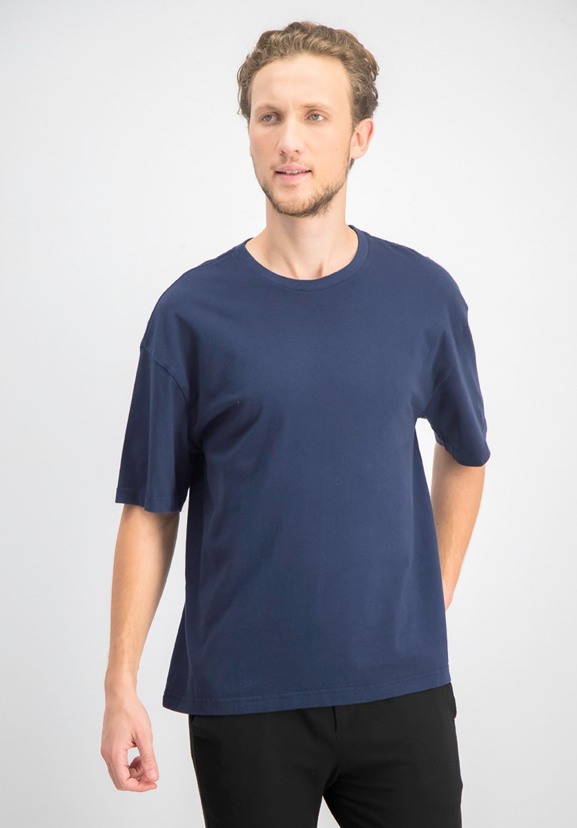 Men's Short Sleeve T-Shirt, Navy