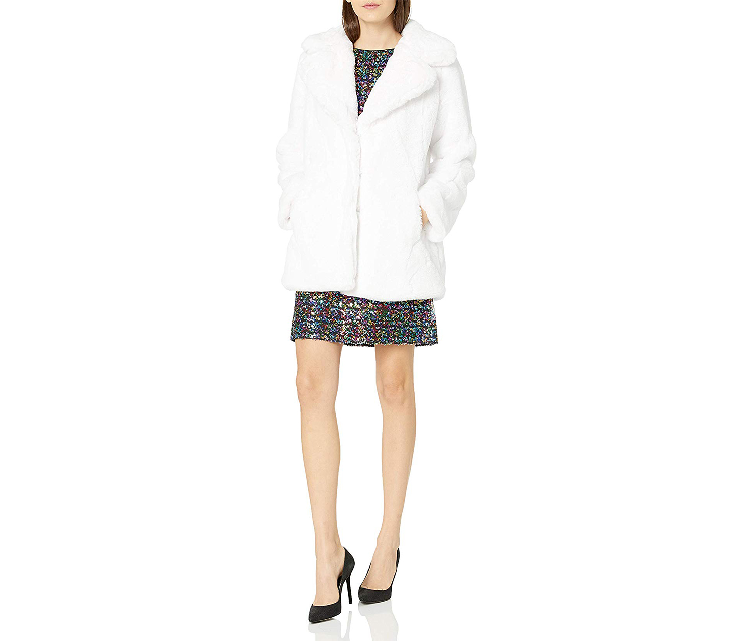 Women's Fashion Outerwear Jacket, White