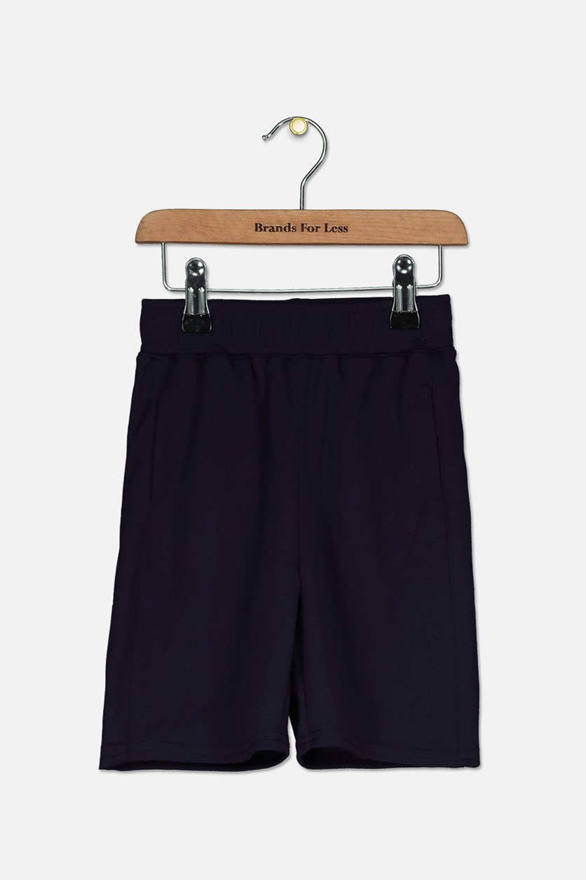 Toddler Boys The Ultimate Mesh Basketball Short, Navy