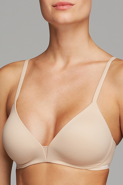Women's Perfectly Fit Wirefree T-Shirt Bra, Beige