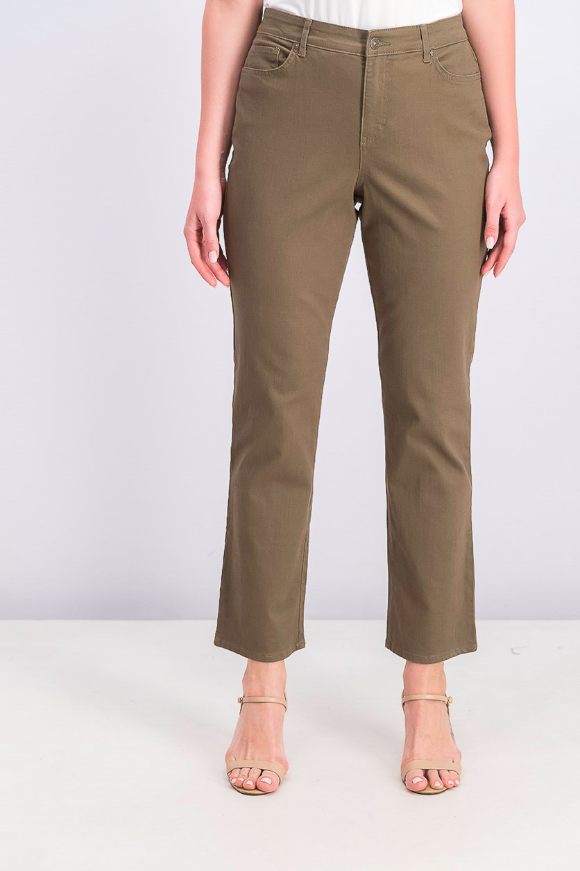 Women's  Rail Straight Pants, Taupe