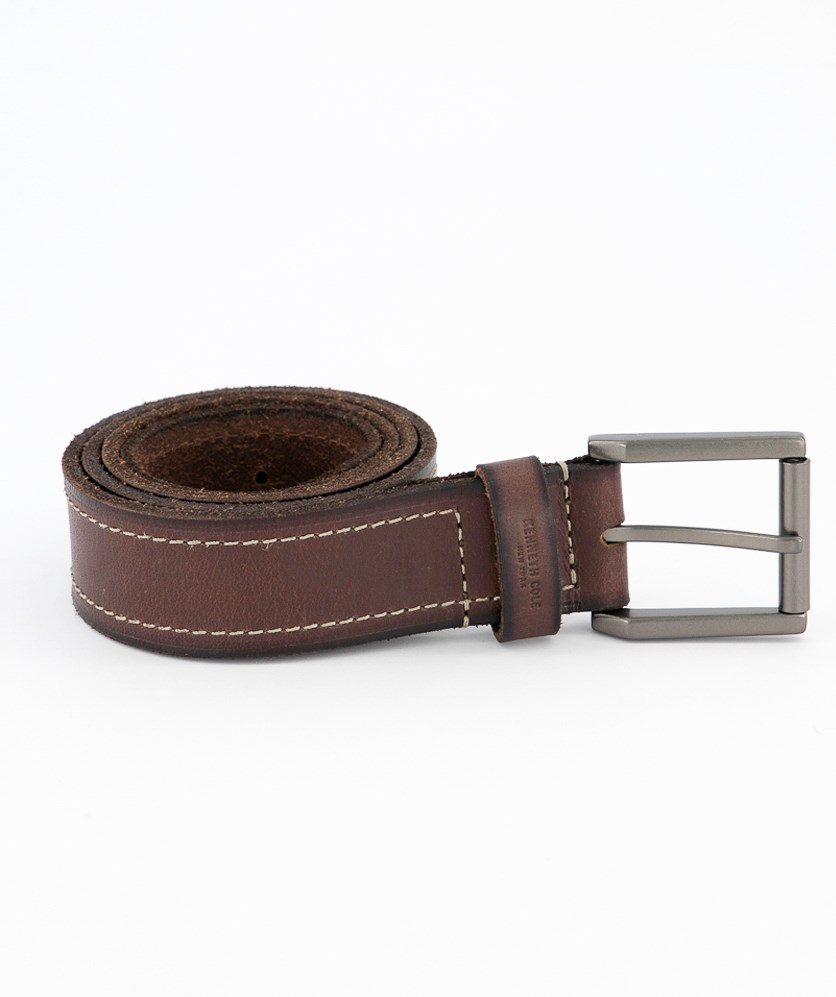 Men's Leather Belt, Brown