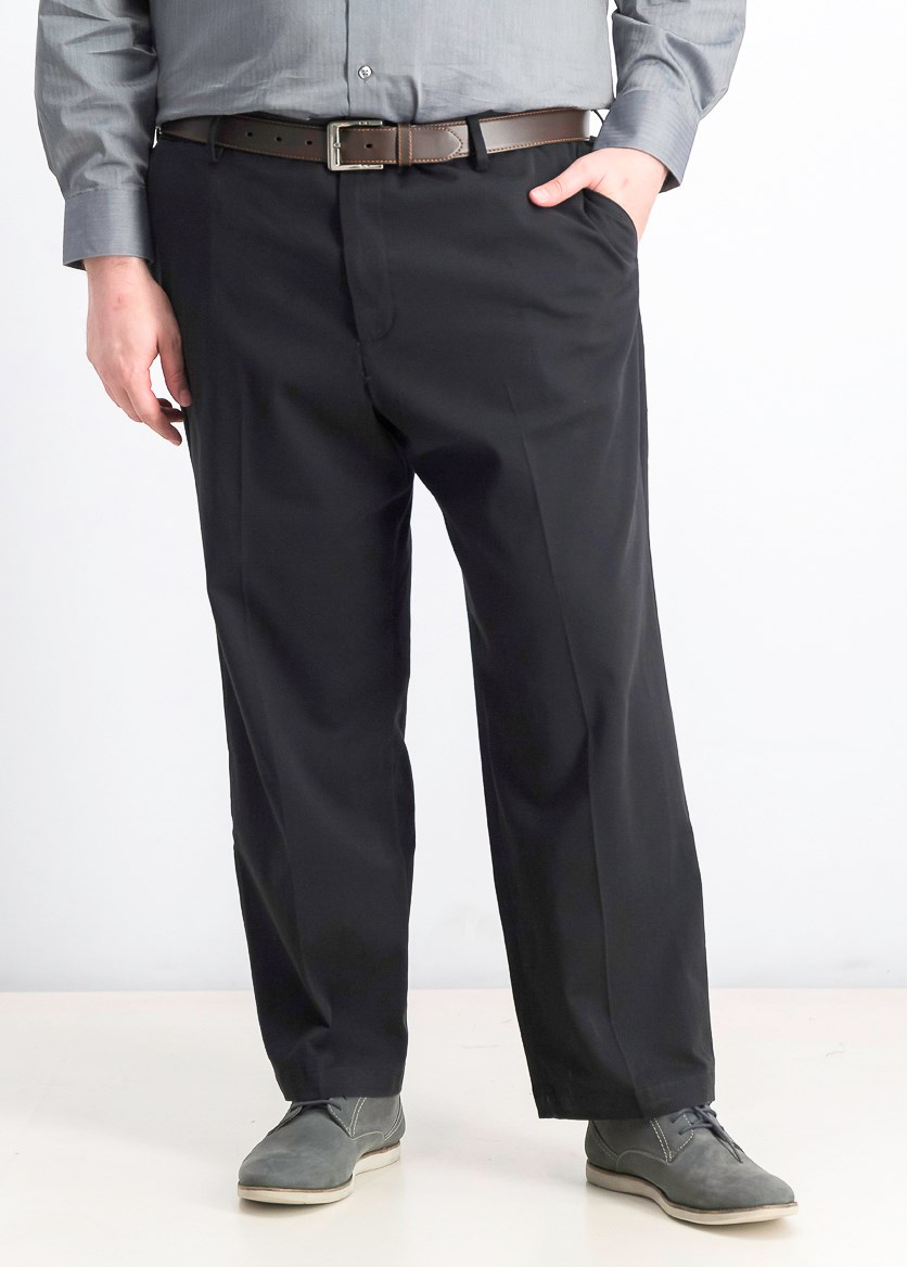Men's Comfort Relaxed Fit Pants, Black