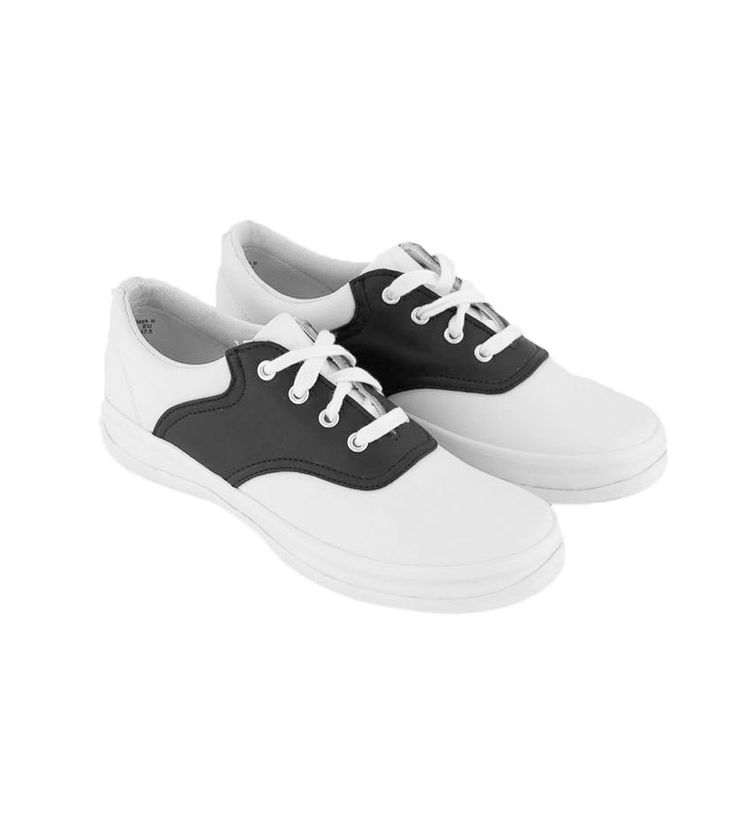 Kids Girls School Days Sneakers Shoes, White/Navy