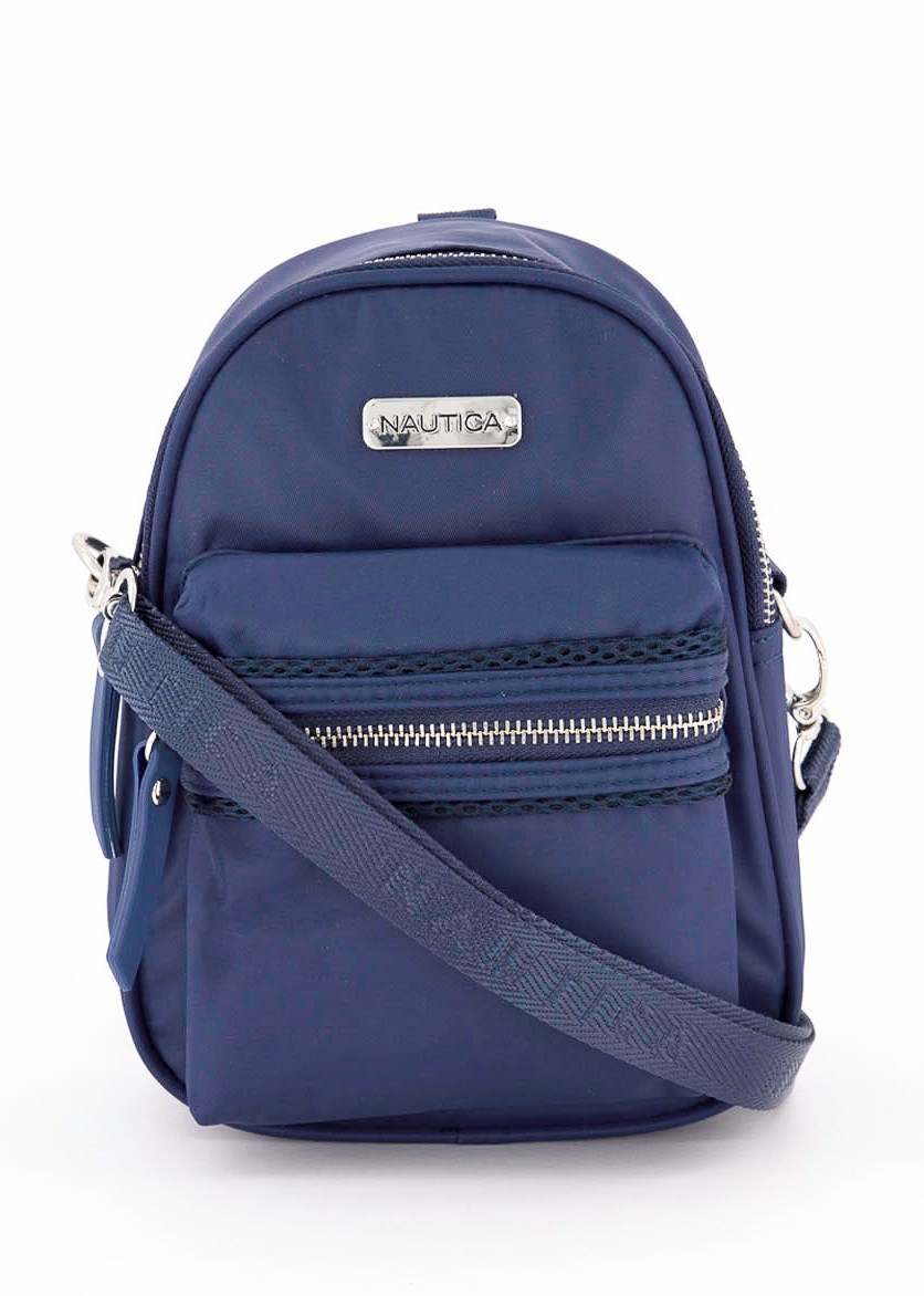 Women's Mini Convertible Backpack, Indigo