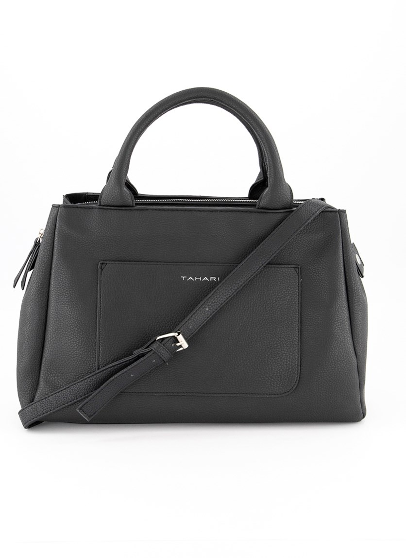 Women's Bleeker Satchel, Black