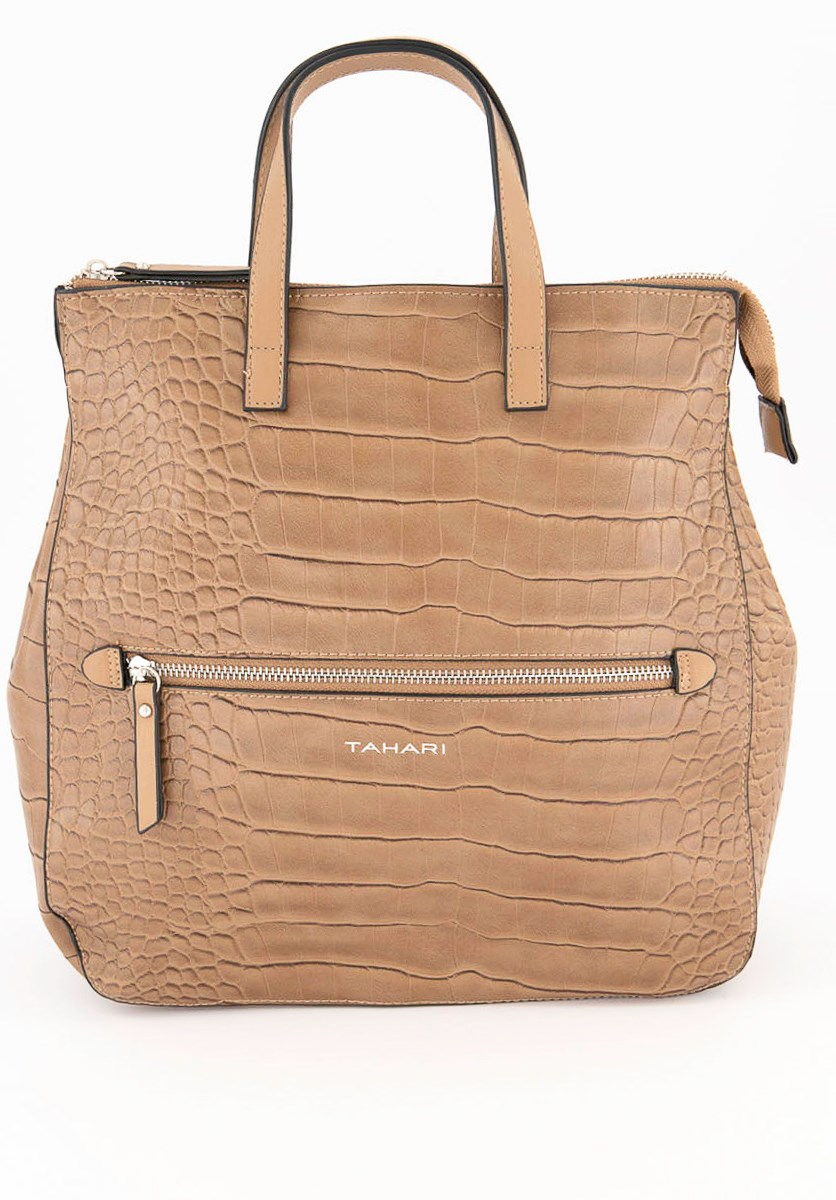 Women's  Madison Ave Backpack, Taupe