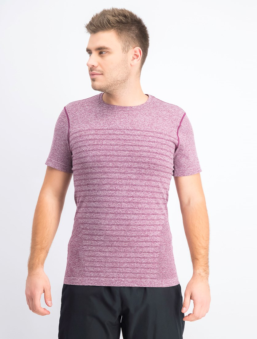 Men's Space Dye T-shirt, Prune