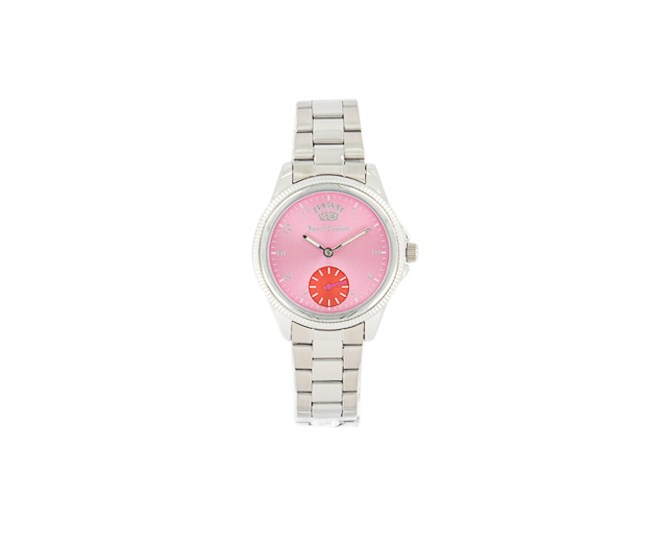 Women's Analog Watches, Silver/Pink