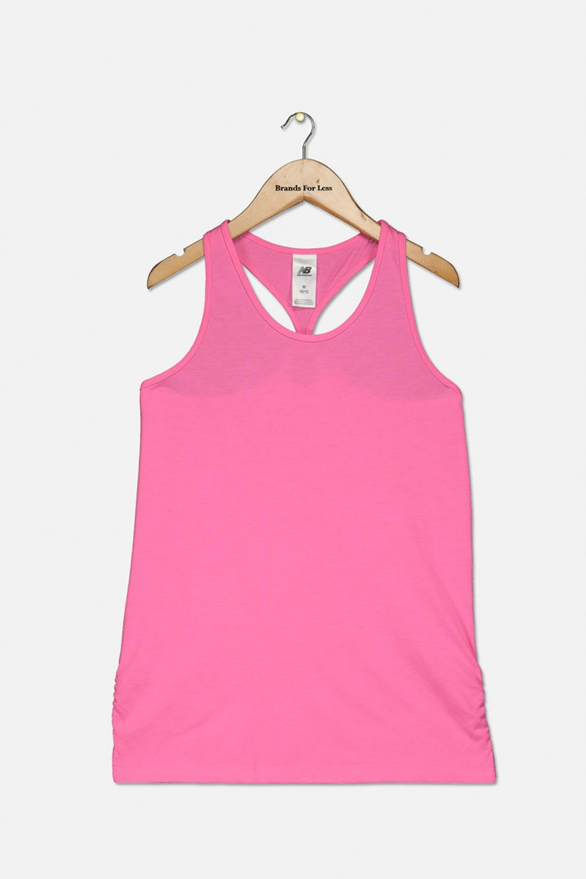 Girl's Core Pullover Tank, Pink