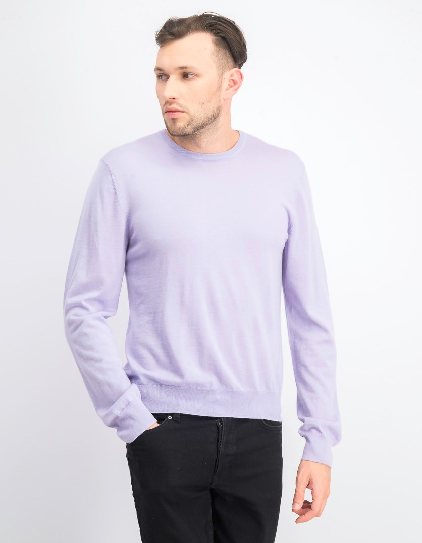 Men's Store at Bloomingdale's Cashmere Crewneck Sweater, Lavender