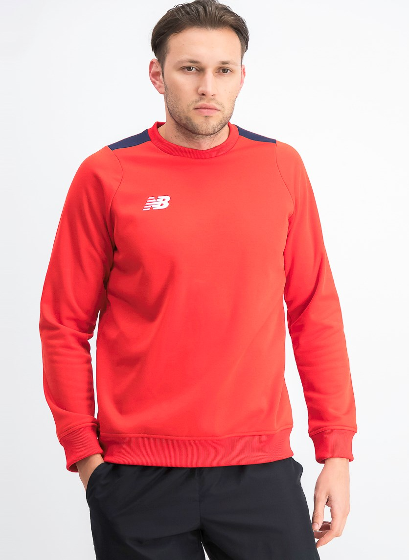 Men's Long Sleeve Sweater, Red