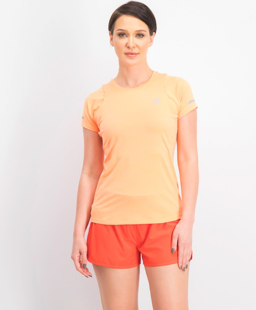 Women's Lightweight Jogging T-Shirt, Orange