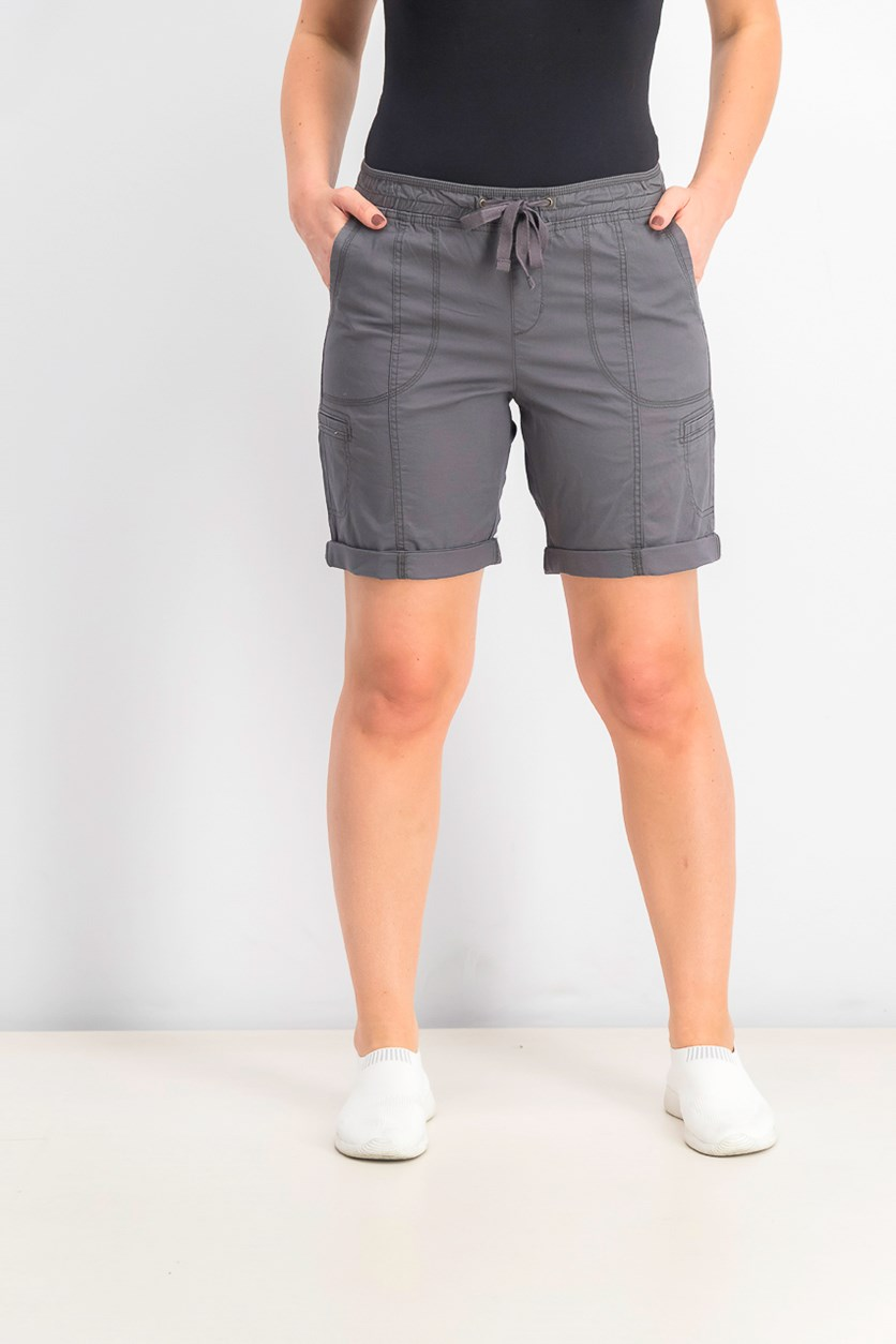 Women's Petite Cargo Shorts, Dazed