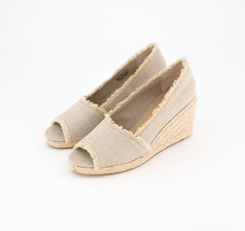 Women's Carmondy Espadrille Wedge Sandal, Natural