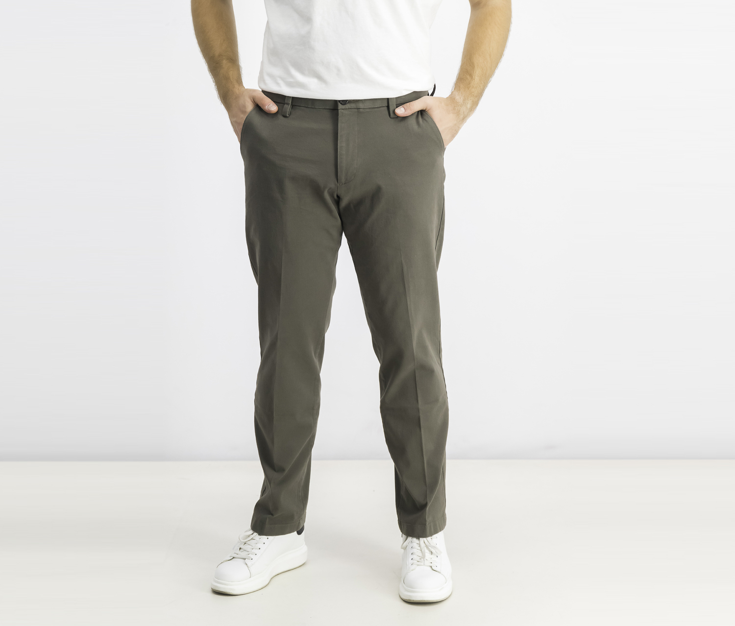 Straight Fit Workday Pant's, Khaki