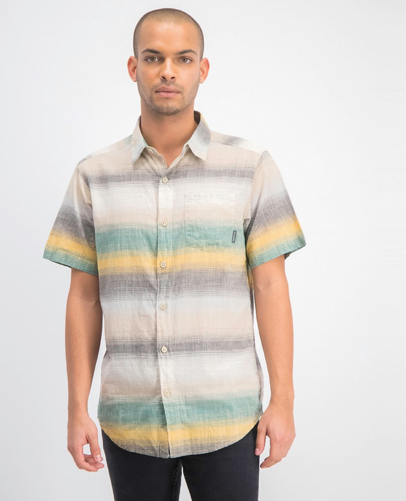 Men's Under Exposure Yd Short Sleeve Shirt, Ancient Fossil