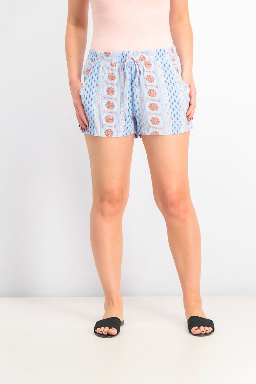 Juniors' Soft Shorts, Baby Blue