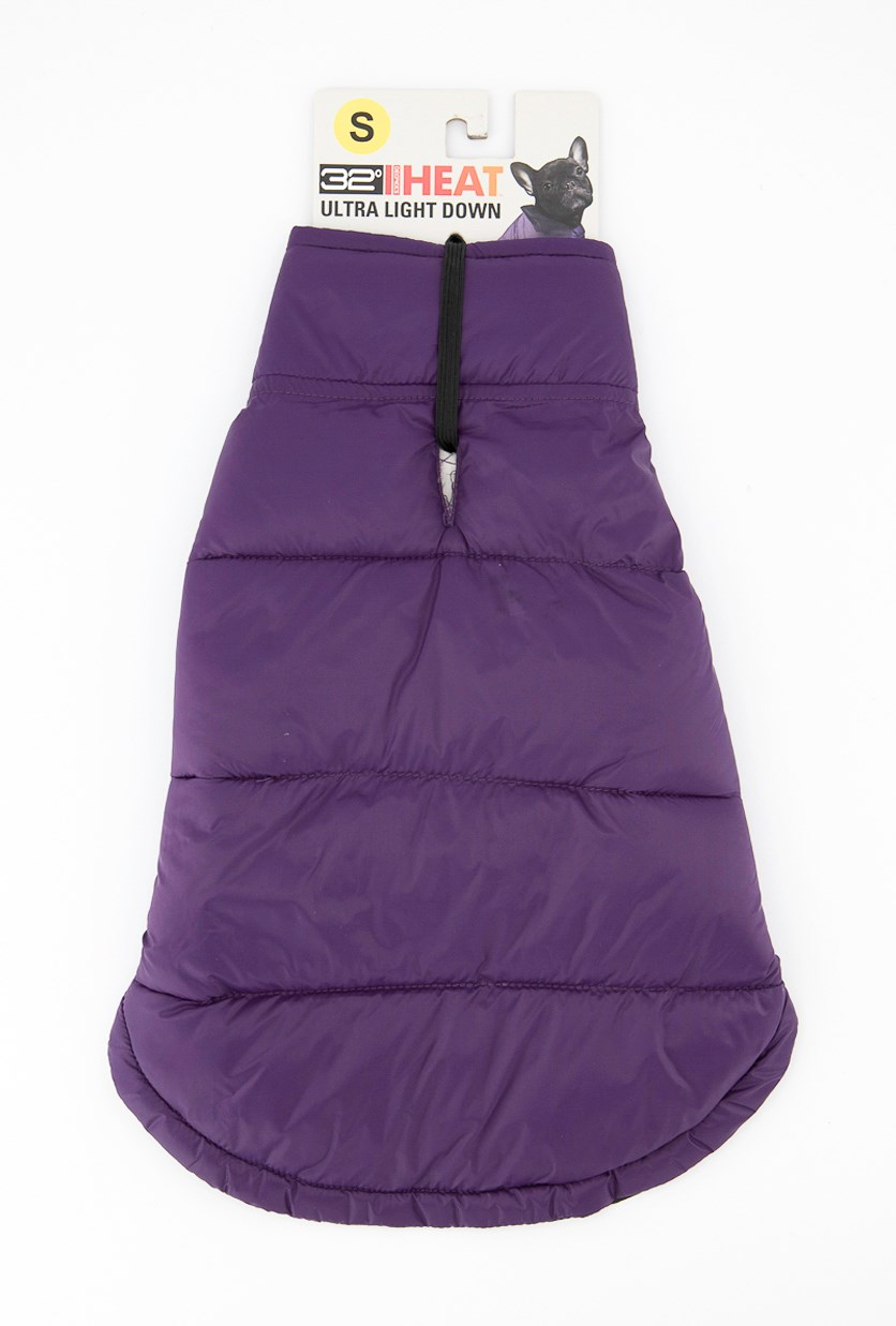 Packable Down Dog Vest, Violet Night
