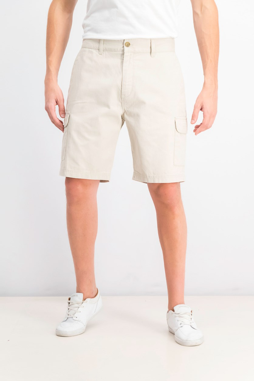 Men's Six Pocket Cargo Short, Light Beige