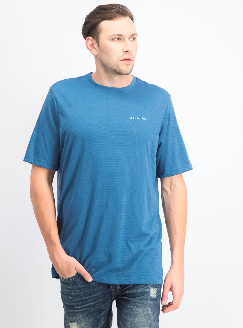 Men's Big & Tall Thistledown Ridge Performance T-Shirt, Impulse Blue