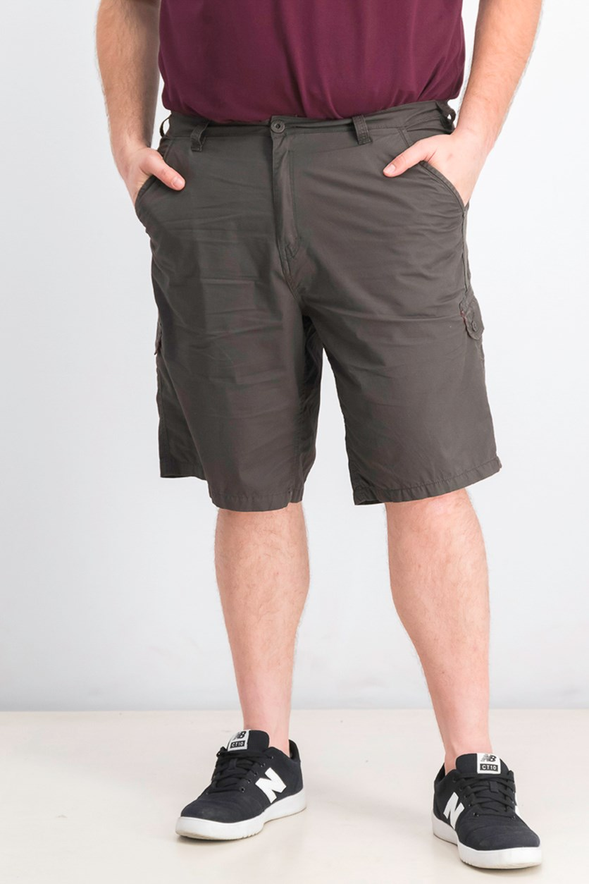 Men's Howan Cargo Shorts, Charcoal