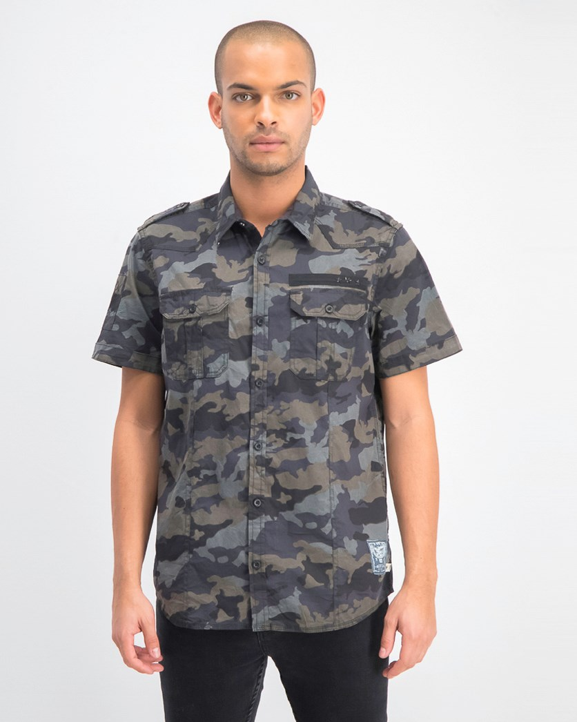 Men Soovin-x Short Sleeves Shirt, Ardent